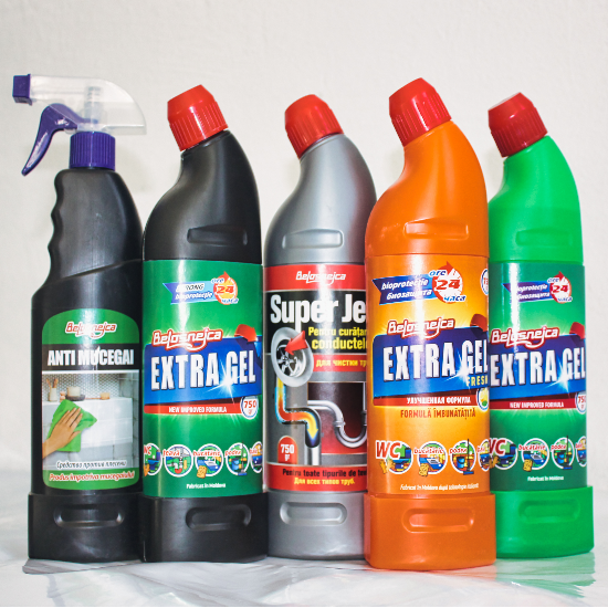 10.Disinfectant, anti-mold, universal detergent and liquid for cleaning sewage pipes